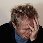 elderly man fatigued